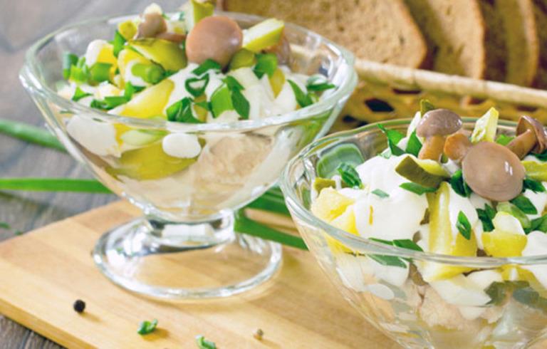 Aardappelsalade met Noorse Mosterd Dillesaus